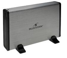 Boitier Disque dur Bluestork Su30 Sata/3.5''/usb3.0 - Noir