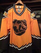 Boston Bruins Alternate Third Throwback Hockey Authentic Starter Jersey 54-R