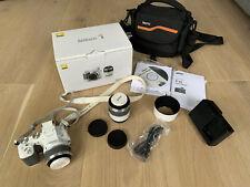Nikon 1 V2 14.2MP Digital Camera - White (Kit w/ 10-30mm and 30-110mm Lenses)