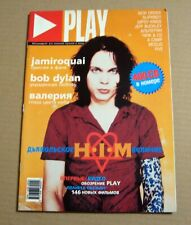 Play magazine 2001 HIM Ville Valo Jamiroquai Mike Figgis etc Russia Rare