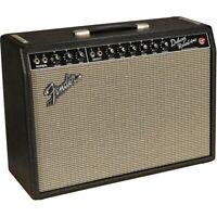 Fender '64 Custom Deluxe Reverb 20W 1x12 Tube Guitar Combo Amp Black LN
