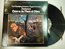33 RPM Vinyl Beethoven Christ On The Mount Of Olives Columbia ML6241 121514KME