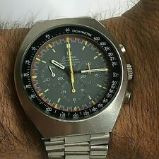 Vintage OMEGA Speedmaster Mark 2 Ref 145.014 Racing Dial Manual Wind Chronograph