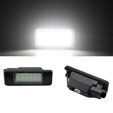 Pair License Plate Light Lamp 18 LED for PEUGEOT CITROEN C2 C3 C4 C5 3008 508 5D