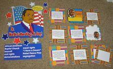 Teacher Resource: Martin Luther King, Jr. Bulletin Board Set