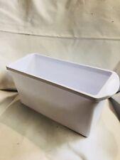 Sterilite White Ice Holder Box Feezer Container