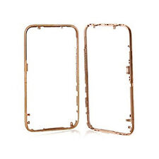 iPhone 3G Chrome Front Bezel Frame Cover Replacement Part in GOLD - SHIP CANADA