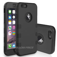 Hybrid Shockproof Rugged Rubber Hard Armor Case Cover for iPhone 6 6S 4.7inch
