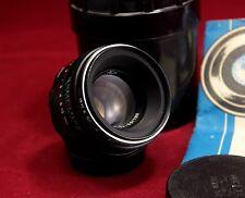 Vintage NEW Helios 44-2 58mm f/2 portrait lens M42 King of Bokeh Canon EOS mount