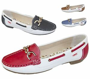Ladies Pumps Loafers Womens Flat Casual Comfort Office Work School Shoes Size