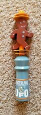 Ufo Gingerland Gingerbread Inspired Beer Mini Tap Handle - Used
