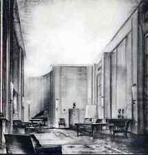 Lucien ROLLIN - SALON  3.Entwurf   im  ART DECO-Stil - OriginalHeliotypie 1930