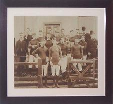 LLANELLI RUGBY CLUB 1888 - 1889 PHOTOGRAPHIC PRINT