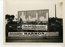 PHOTO ORIGINAL VINTAGE - GRAND PRIX AUTOMOBILES DE MONACO EN 1929 TABLEAUX