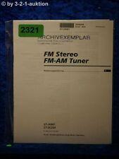 Sony Bedienungsanleitung ST JX661 / SE200 FM/AM Tuner (#2321)