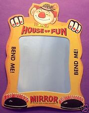 "1960 DAIRY QUEEN ICE CREAM CLOWN ""HOUSE of FUN"" MIRROR JUST LIKE IN THE CIRCUS !"