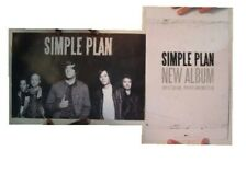 Simple Plan Poster Two Sided