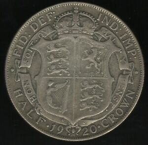 1920 George V Silver Half Crown   British Coins   Pennies2Pounds