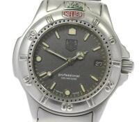 TAG HEUER Professional 200 999.213A Date gray Dial Quartz Boy's Watch_610076