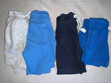 BABY BOYS BUNDLE OF 4 PAIRS OF SHORTS SIZE 18-24 MONTHS