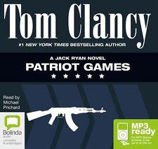 Tom CLANCY / PATRIOT GAMES       [ Audiobook ]