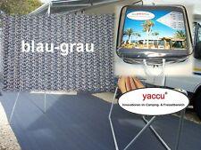 b43 YACCU VORZELTTEPPICH 4x3m blau-grau Wohnmobil Zelt