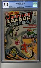 Brave and the Bold (1955) # 28 - CGC 6.5 Off-White Pages - First Justice League