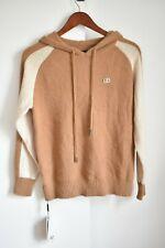 NWT Cashmere Sweater Hoodie Very Soft Tan/Brown Chinese DonGao (Balenciaga?)