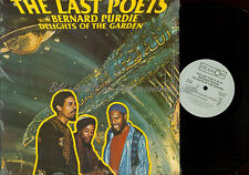 LP-- The Last Poets With Bernard Purdie – Delights Of The Garden // USA 1987