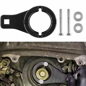 Crankshaft Crank Harmonic Damper Pulley Holding Holder Tool For Toyota & Lexus