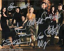 Smallville  Cast  8 x 10 Autograph Reprint  Tom Welling Allison Mack John Glover