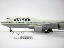 Boeing 747-400 United (Post Continental Merger) by Sky Marks 1/200 Scale