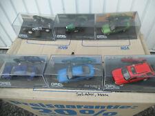18 Opel Modellautos