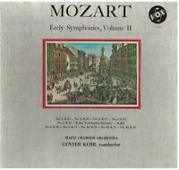 Mozart: Le Prime Syms Volume 2 Gunter Kehr, Mainz Chamber Orchestra - LP