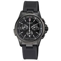 Victorinox Night Vision Chronograph Quartz Men's Watch 241731 **Open Box**