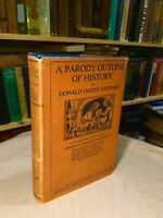 A Parody Outline Of American History By Donald Stewart 1921 RARE HC/DJ ILLUST.
