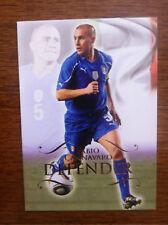 2011 Unique Futera Soccer Card - Italy CANNAVARO Mint