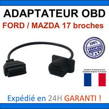 Adaptateur Mazda FORD Ranger 17 broches vers OBD2 Compatible Delphi Autocom