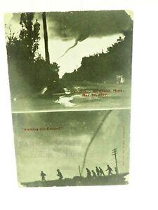 Cyclone (Tornado) St. Cloud Minnesota Photo Post Card 1909
