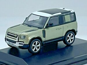 Oxford Diecast 76ND90001 1/76 New Land Rover Defender 90 in Pangea Green