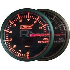 Prosport 45mm De Presión De Aceite Bar Calibre Amber / Transparente De Motor De Pasos