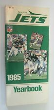 New York Jets Yearbook NFL (1985)