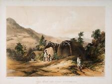 Ootacamund India Imperio Británico todas Munds Pavo Real 6x5 Pulgadas impresión R