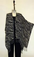 We Be Bop WeBeBop ZEBRA Shawl Wrap Cover Up