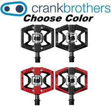 Crank Brothers Double Shot 3 Clipless & Platform Bike Pedals Black or Red Bros