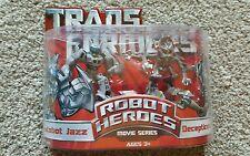 Transformers Robot Heroes - Movie Series Autobot Jazz & Decepticon Frenzy