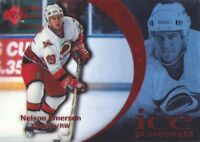 1997-98 Upper Deck Ice Parallel Hockey Cards Pick From List