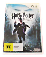 Harry Potter and the Deathly Hallows Pt 1 Nintendo Wii PAL *Complete* Wii U