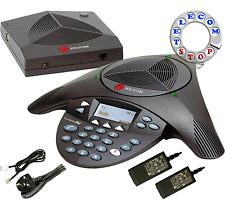 Polycom Soundstation 2W Wireless Conference Phone Telephone - Inc VAT & Warranty