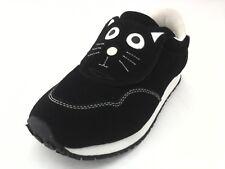 EUC $70 TUK Kitty CAT Black Womens Sneakers Shoes US 6 EU 37 ** RARE style